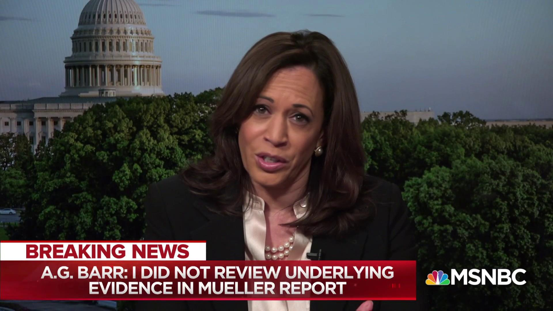 Sen. Harris: Barr clearly intended to mislead the American public