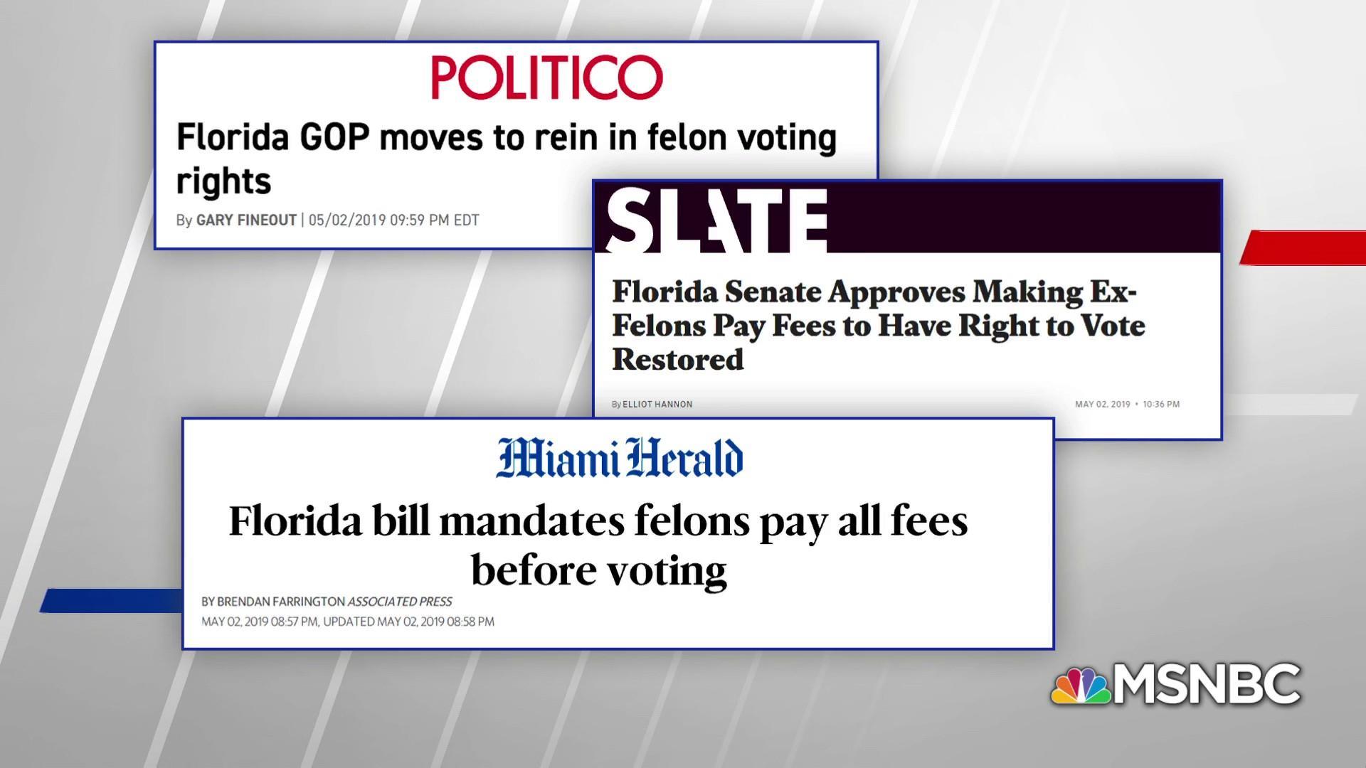 GOP state legislators obstructing voting rights