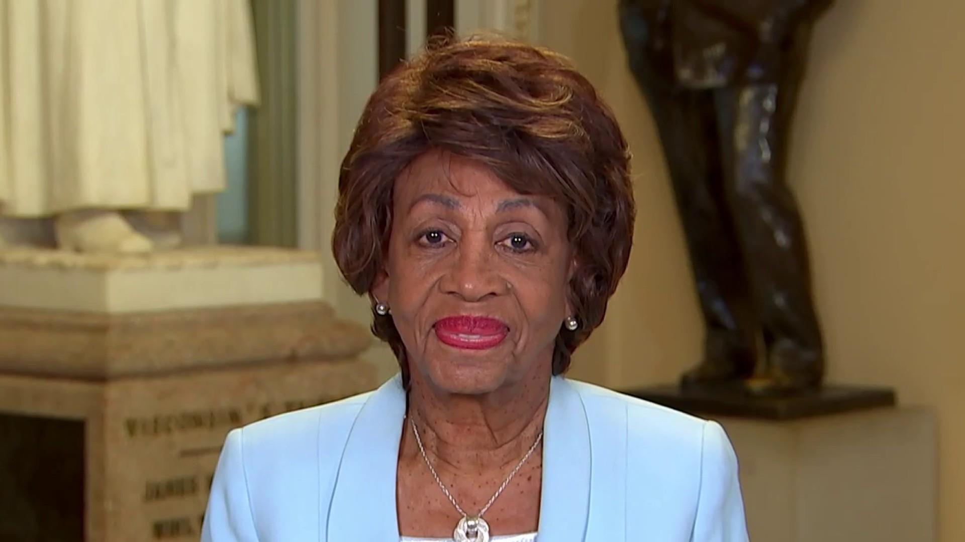 Maxine Waters: I never trusted Trump to get infrastructure done