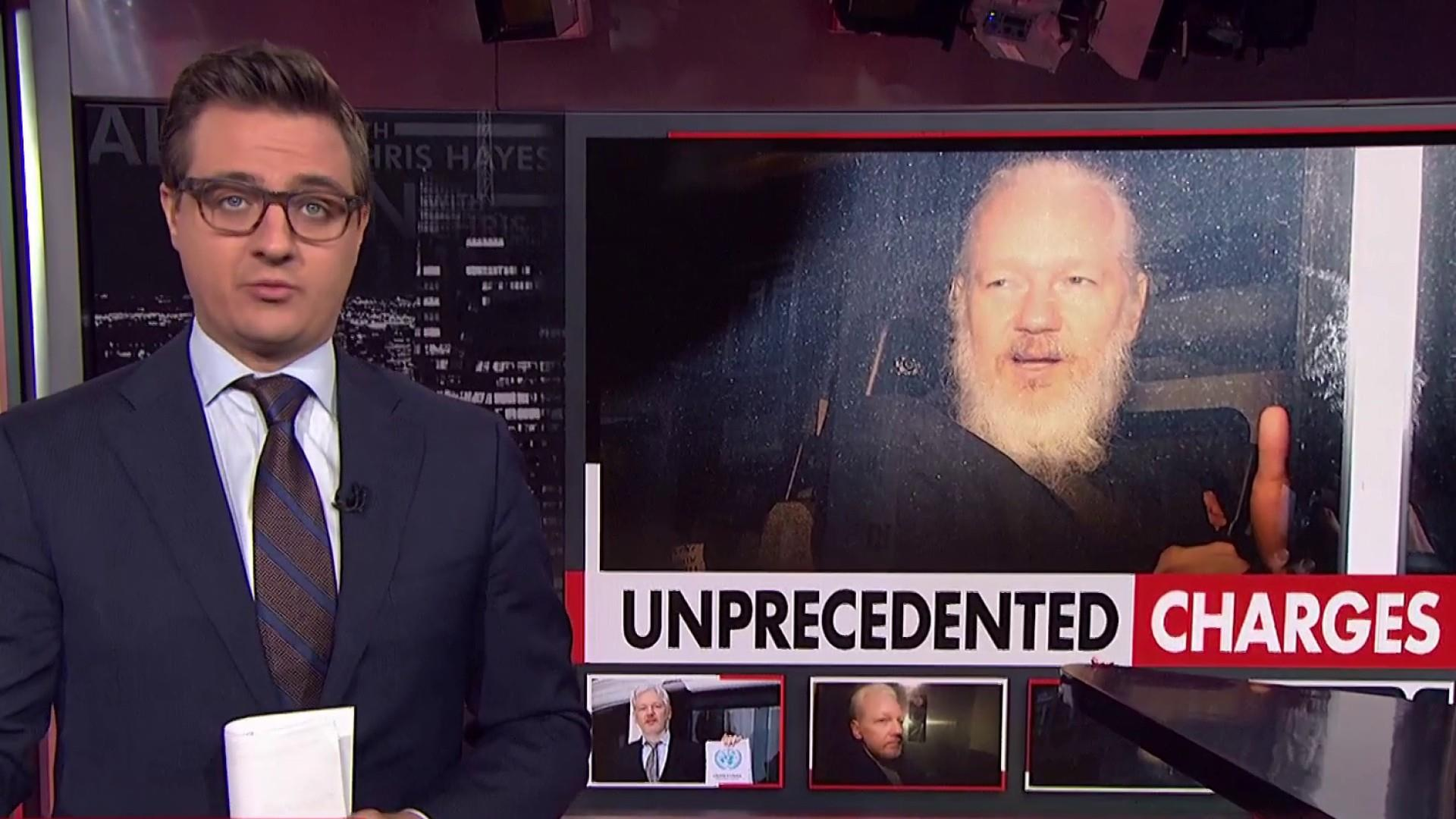 Unprecedented charges against Assange