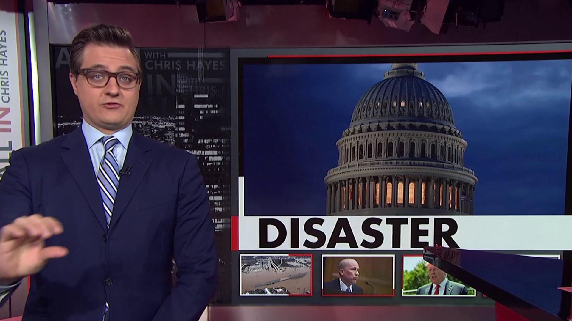GOP Congressman blocks a disaster relief bill
