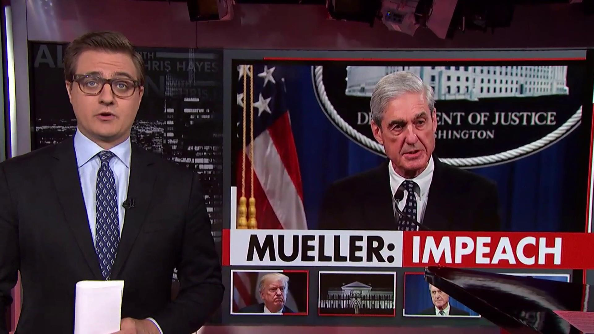 Mueller: If we had confidence Trump didn't commit a crime, 'We would have said so'