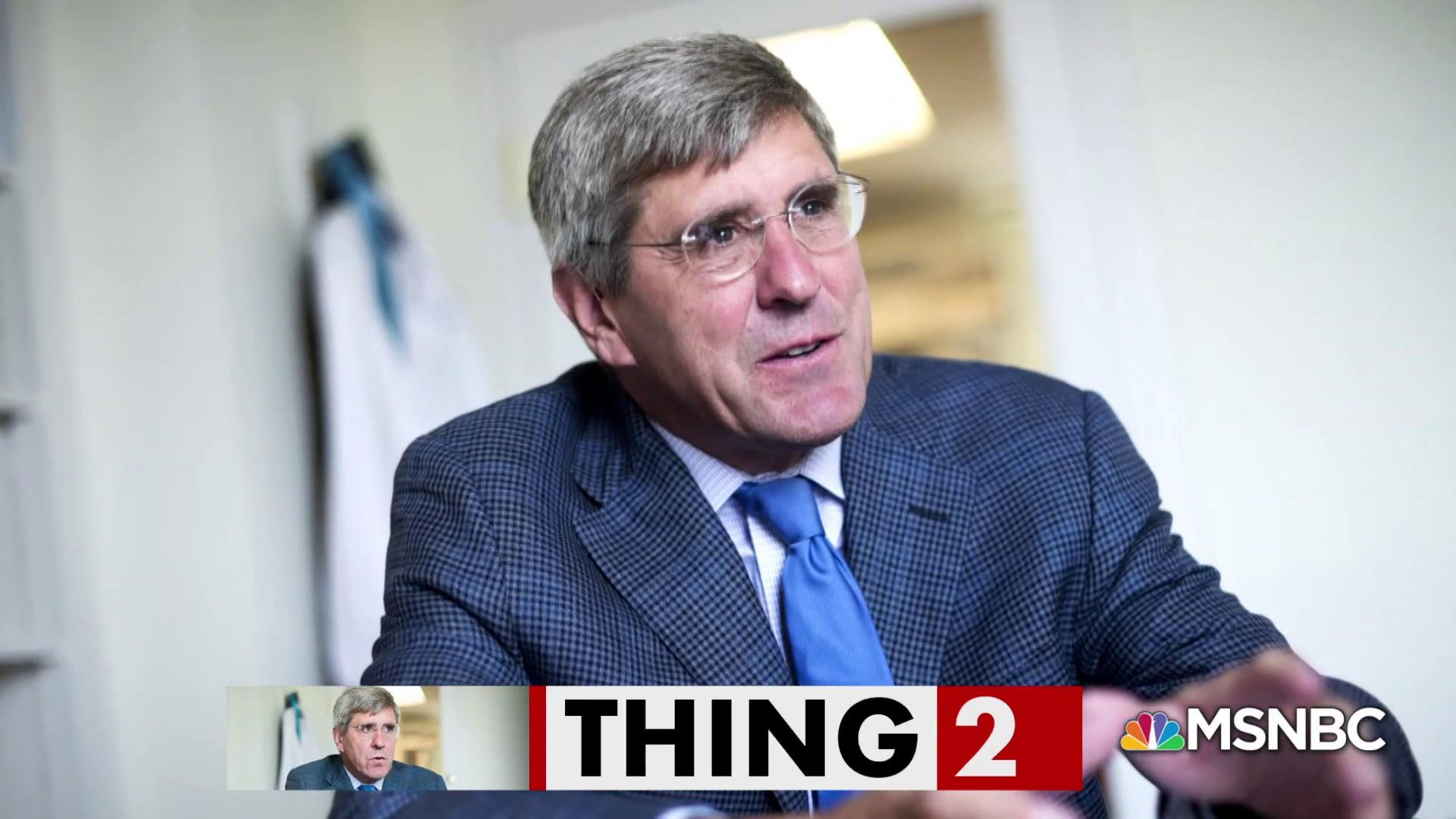 Stephen Moore is not so great at defending himself