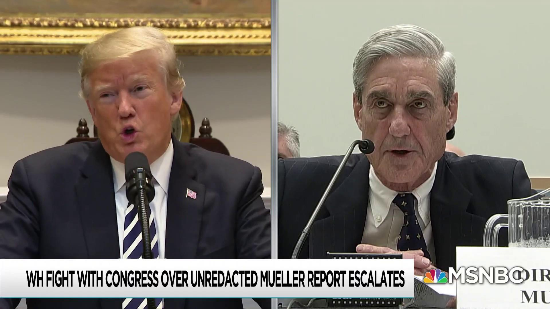 Trump versus the Mueller investigation: one fight on many fronts