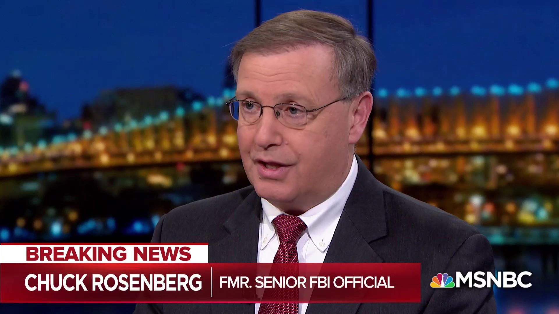 Rosenberg on Mueller Barr letter: 'You don't go to paper lightly'