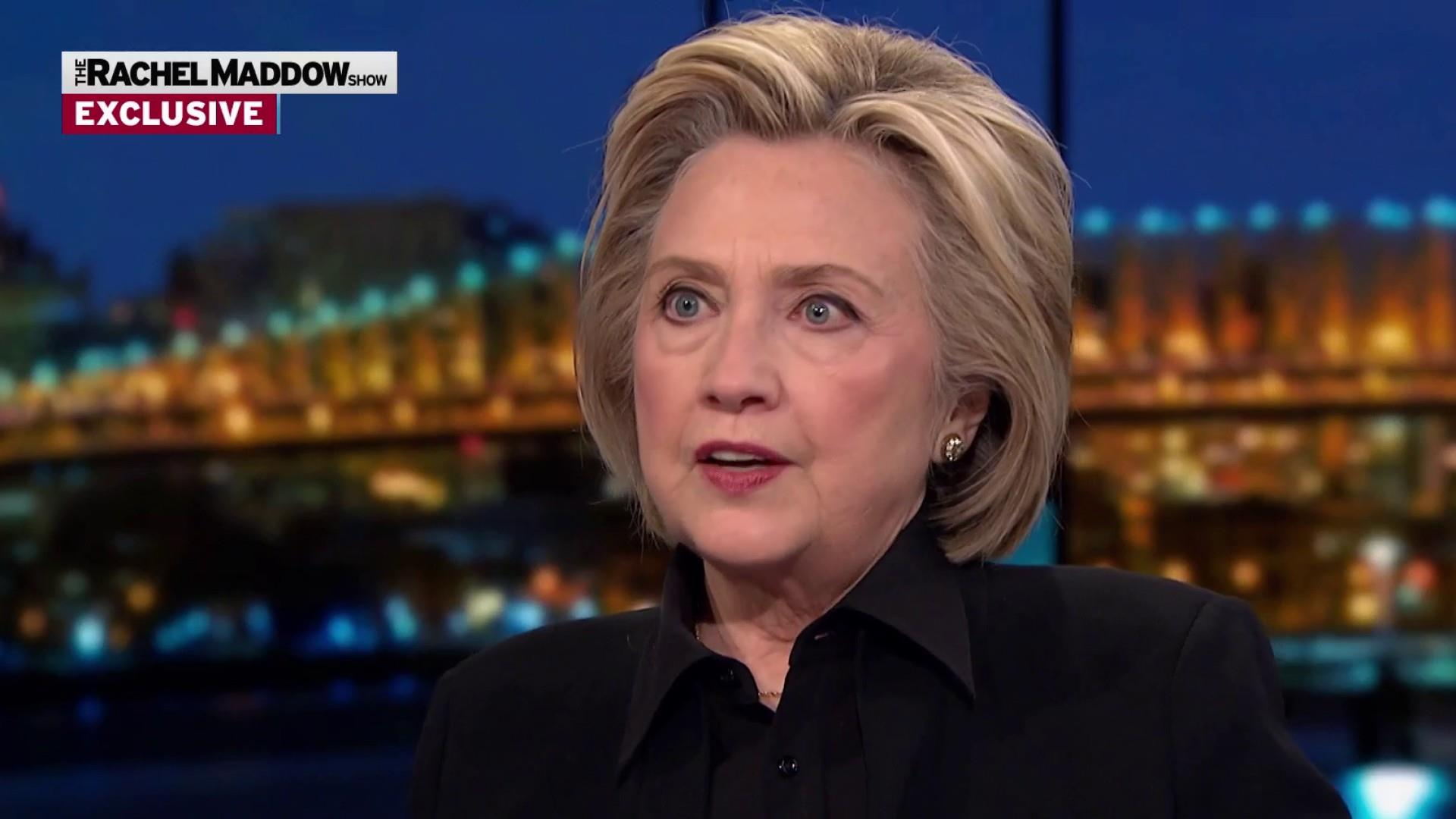 Clinton suggests impeachment take back seat to fact finding
