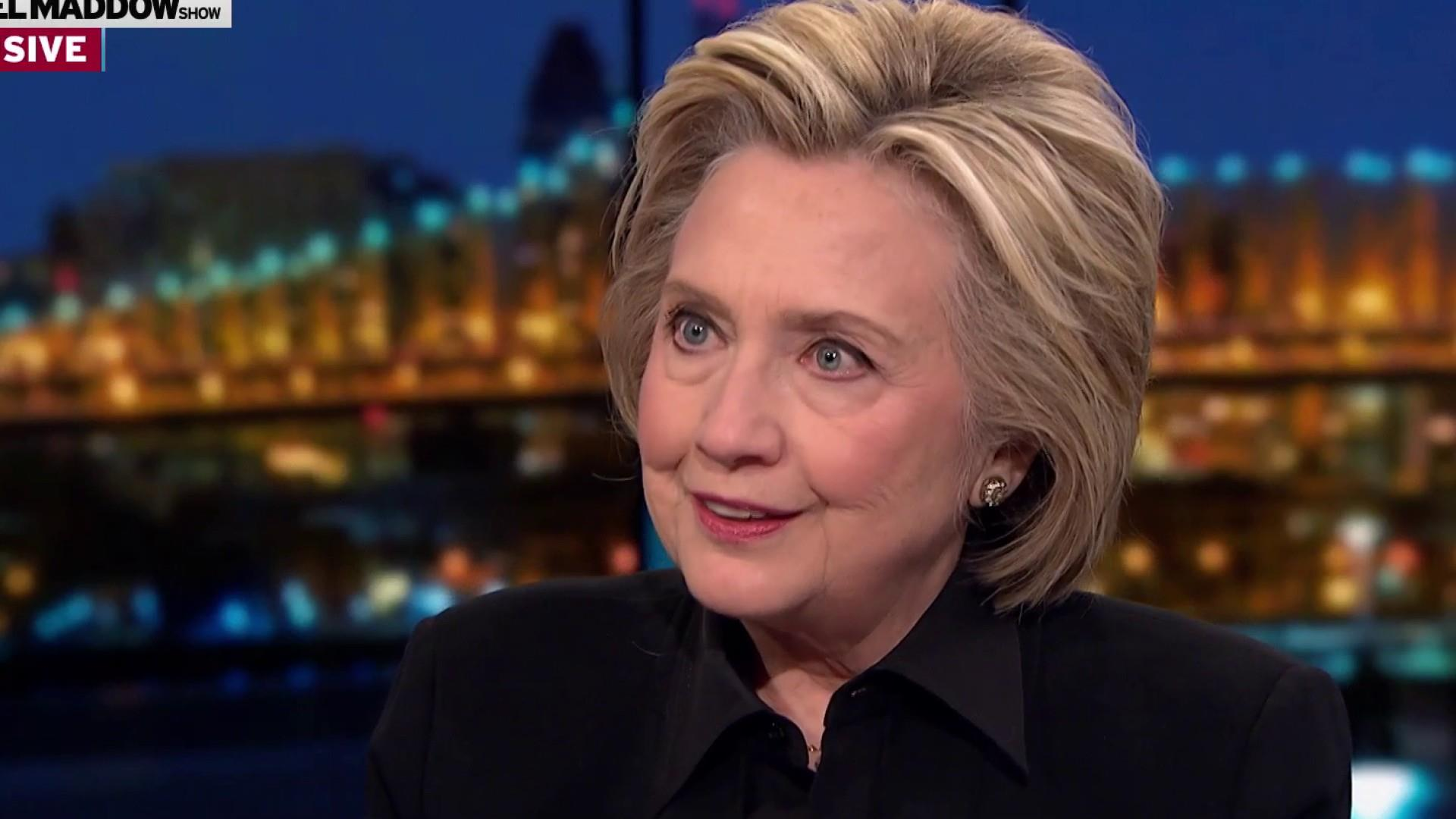 Clinton: Mueller report shows that the Russians were successful