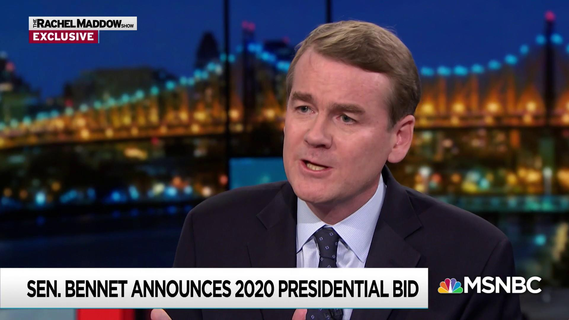 Bennet: McConnell 'completely immune to give and take'