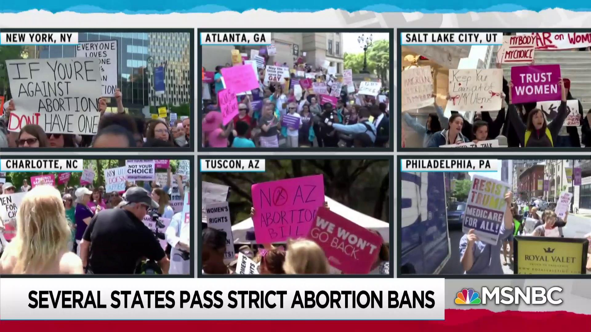 New Republican abortion bans energize legal, political activism