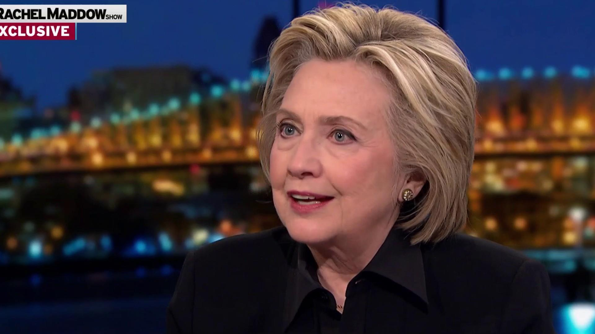 Clinton: 'I'm living rent free inside of Donald Trump's brain'