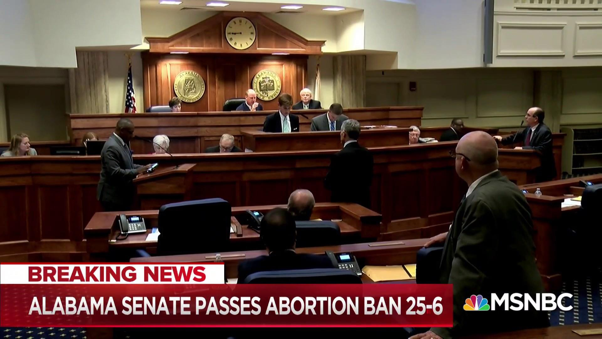 Alabama Senate passes abortion ban with no exceptions