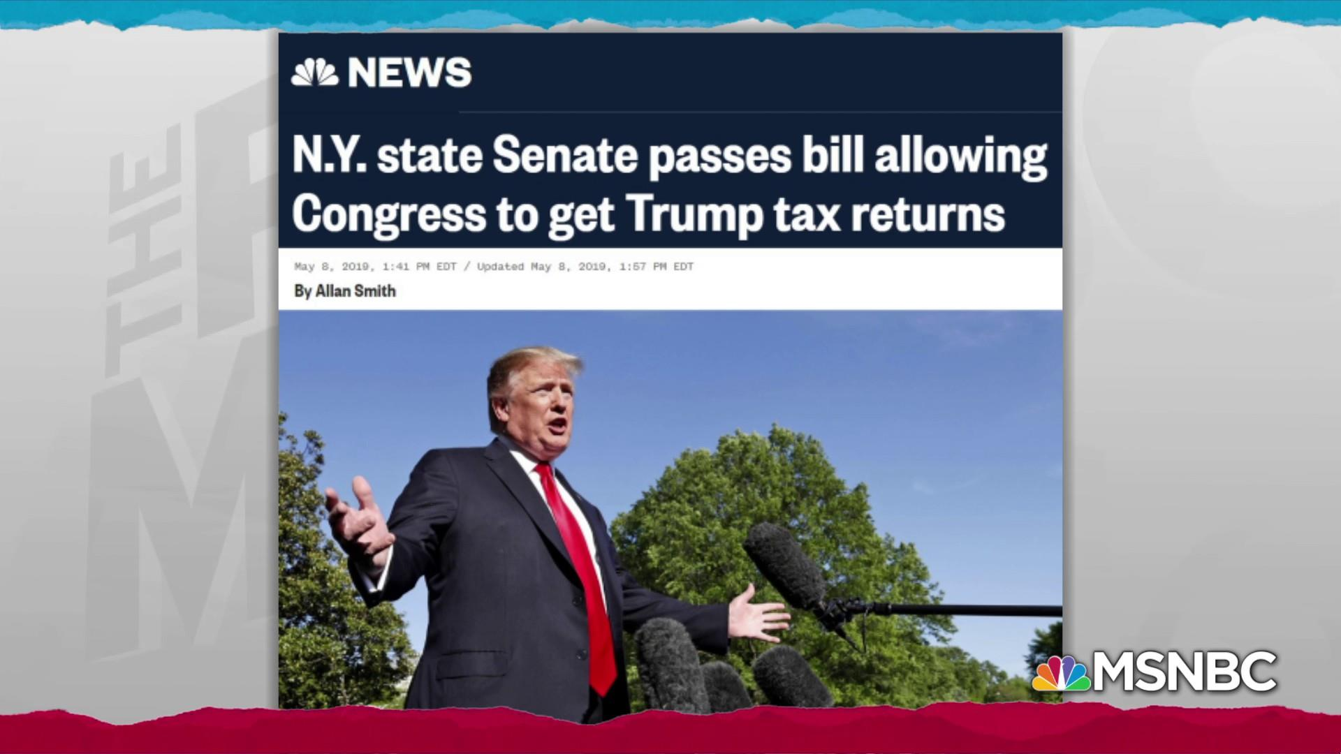 NY steps closer to allowing Trump state taxes to go to Congress