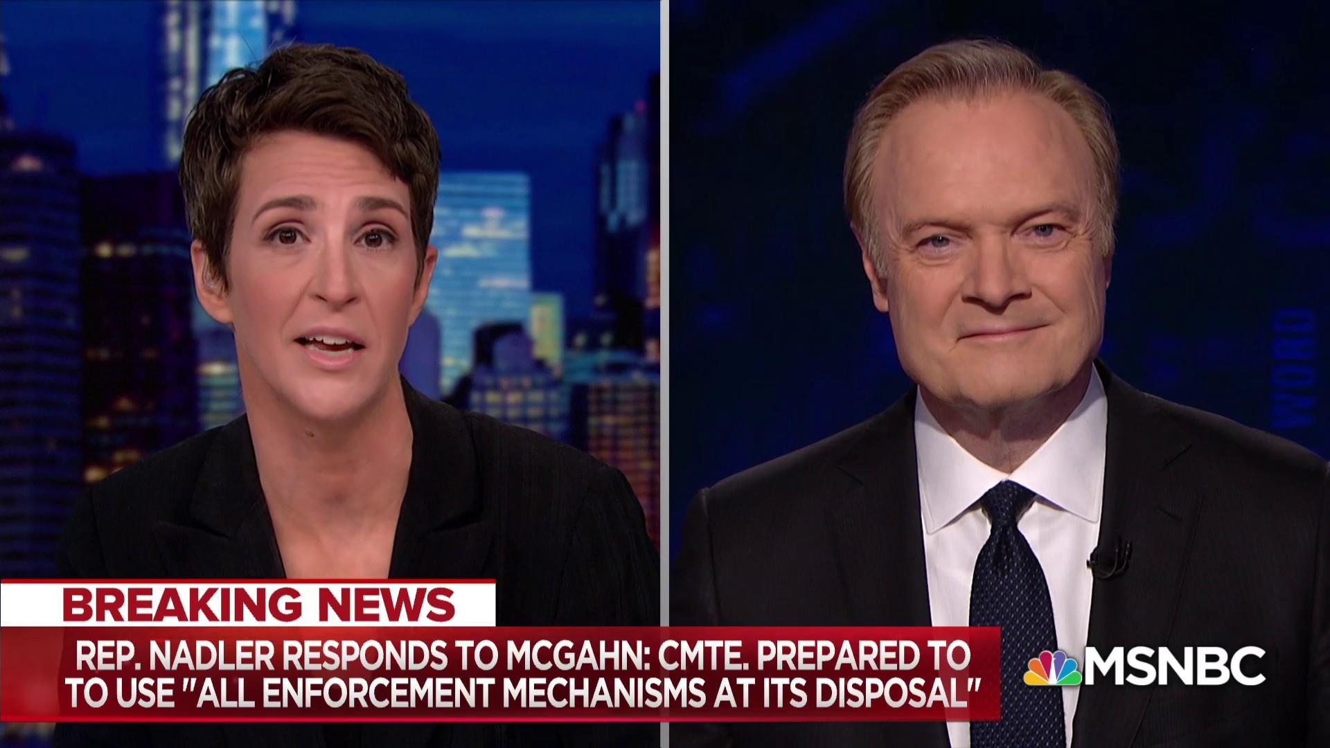 Nadler calls out White House, DOJ for specious legal argument