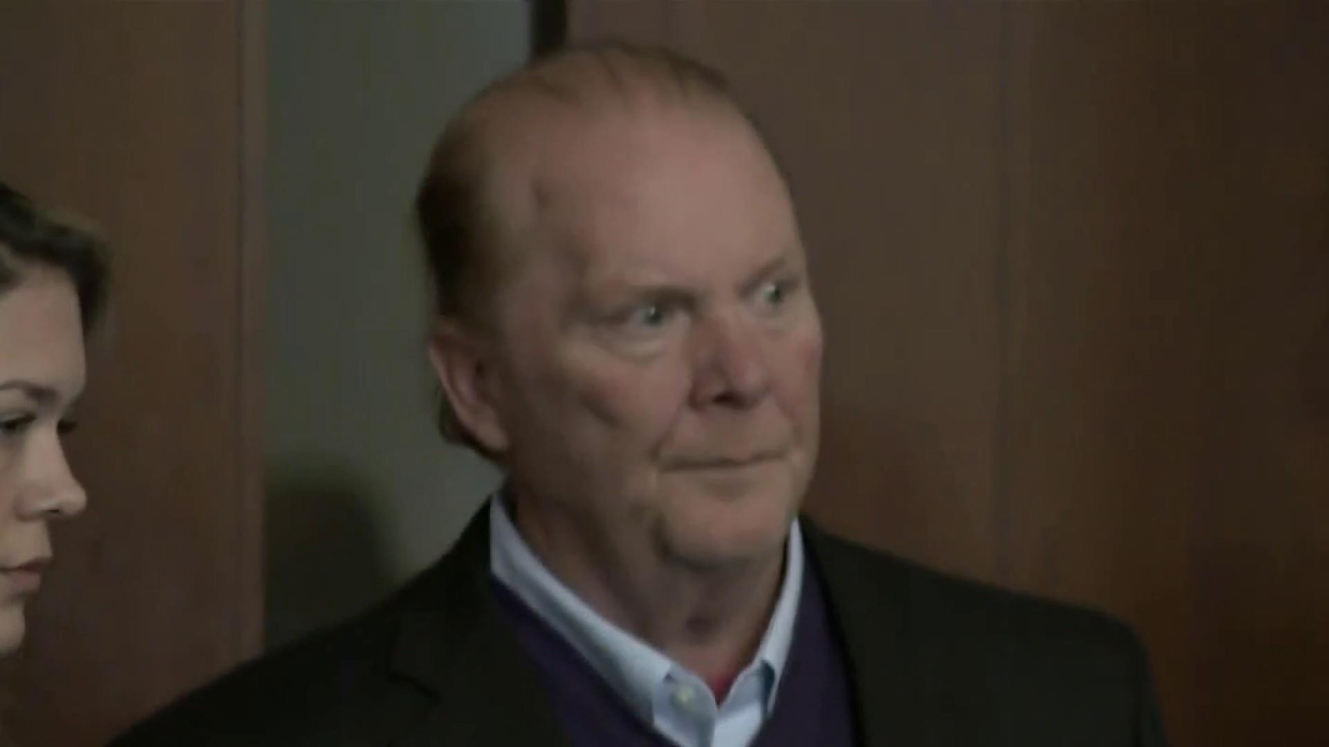 Mario Batali pleads not guilty to assault and battery charge in Boston for allegedly groping, kissing woman