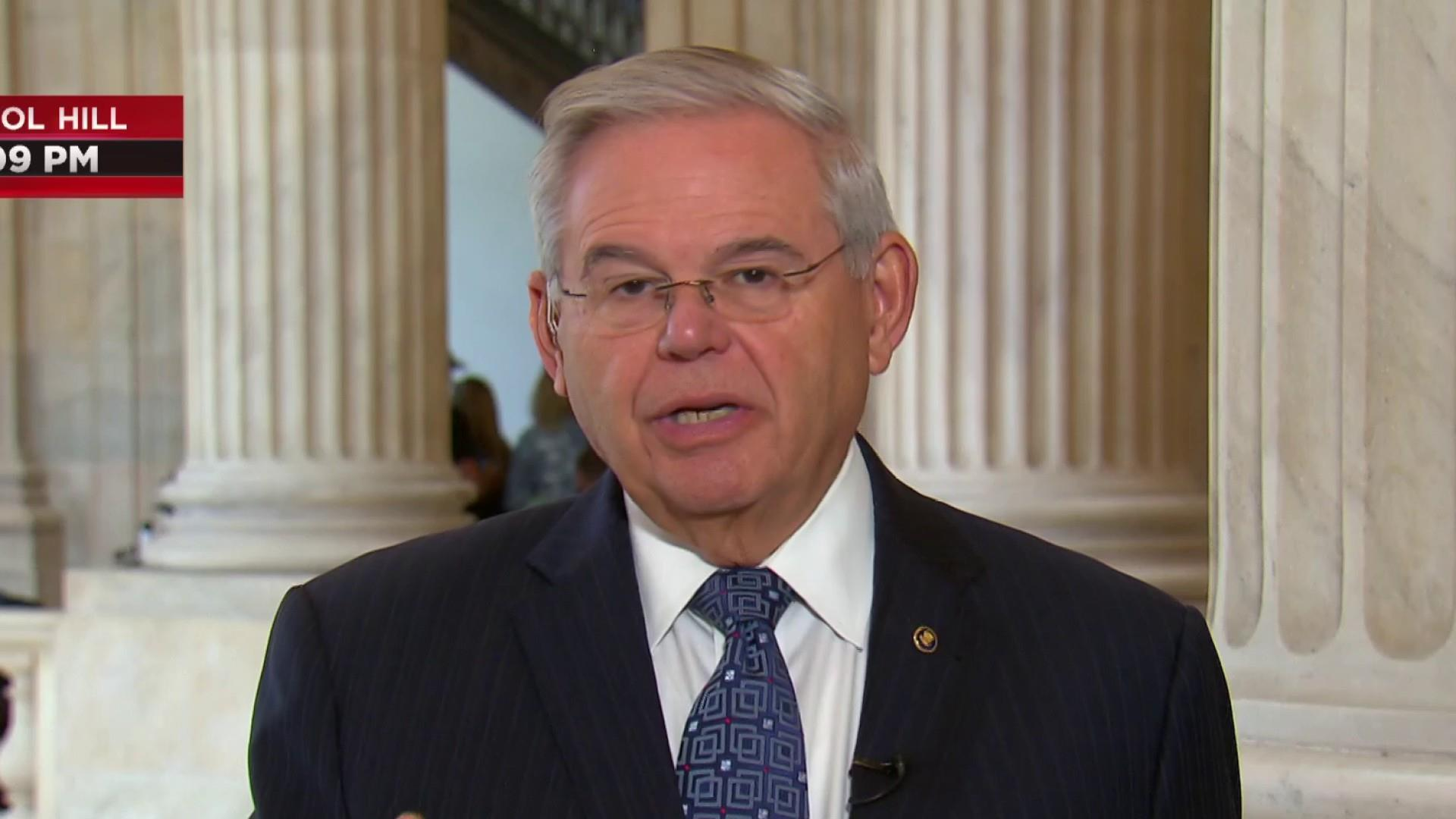 Sen. Menendez: diplomatic surge must follow Trump's maximum pressure on Iran