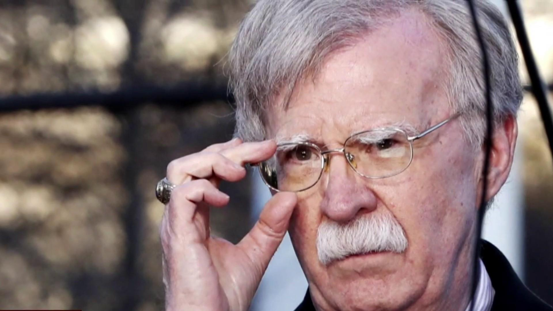John Bolton holds 'highly unusual' meeting at CIA