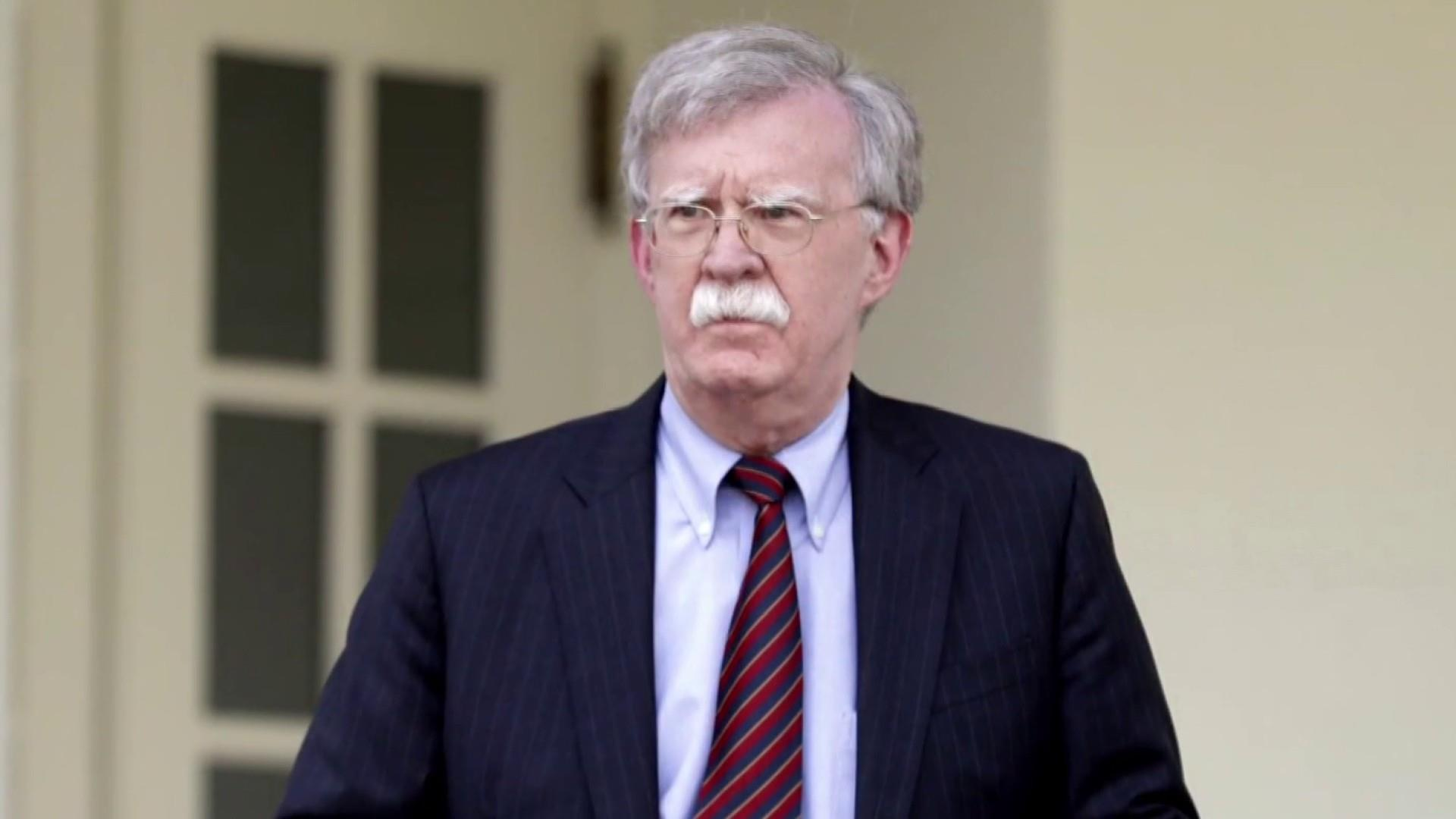 A military plan with 'John Bolton's name all over it'