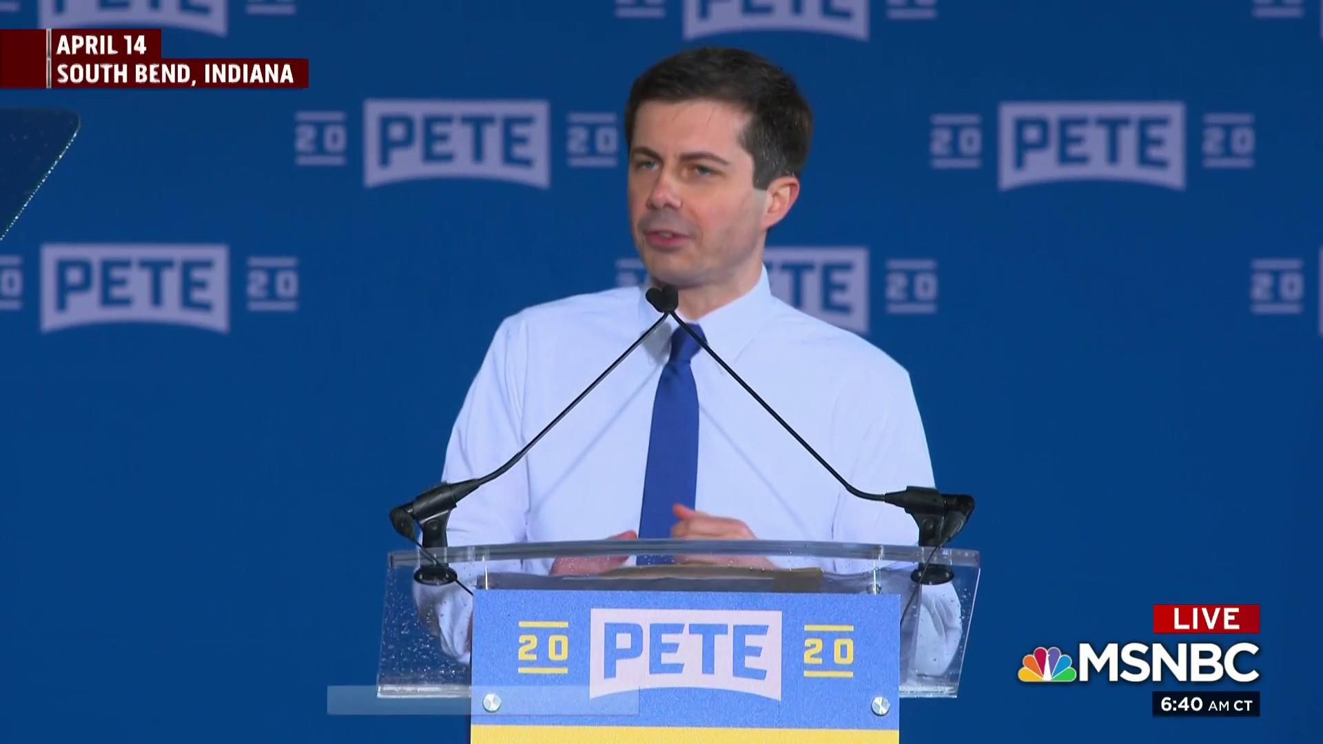 Buttigieg is the only top 2020 candidate not offering staffers