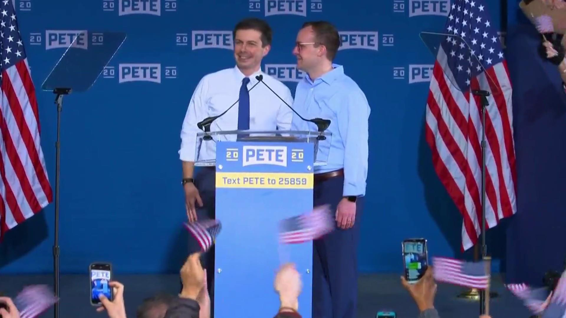 Trump weighs in on Mayor Pete's marriage
