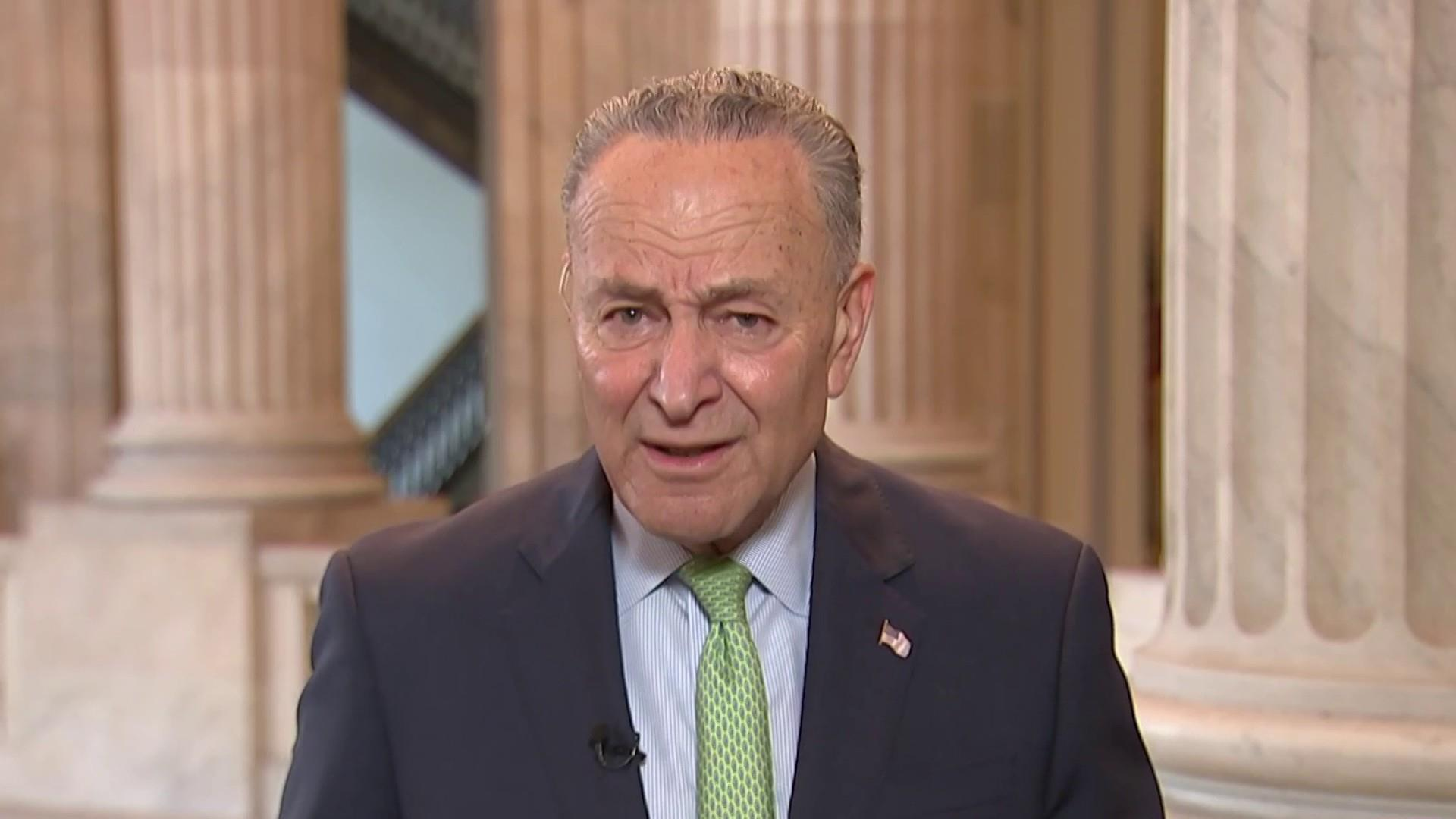 Schumer: We came out better yesterday than Trump did