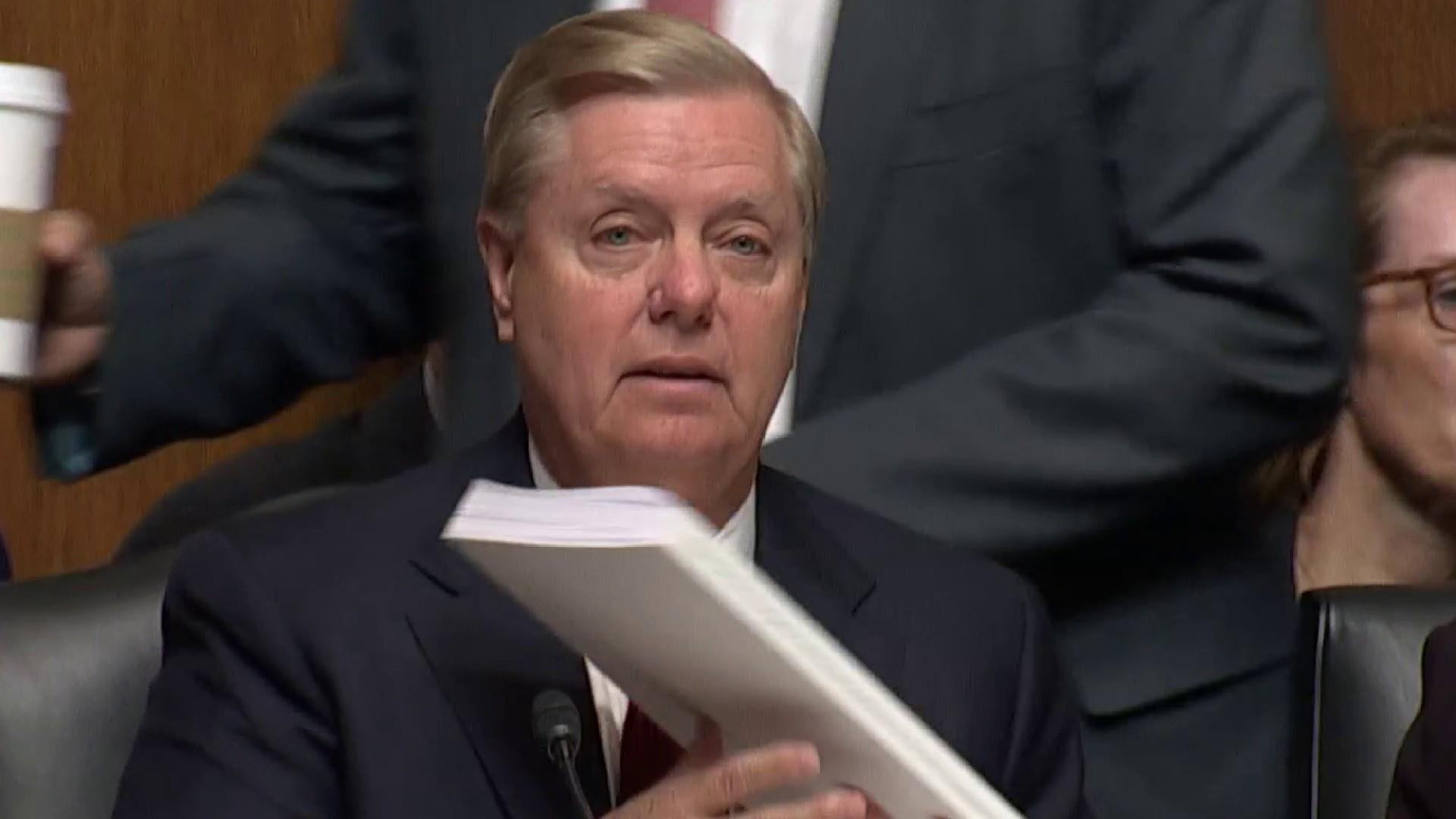Sen. Graham falsely says Mueller found 'no collusion' before Barr testimony