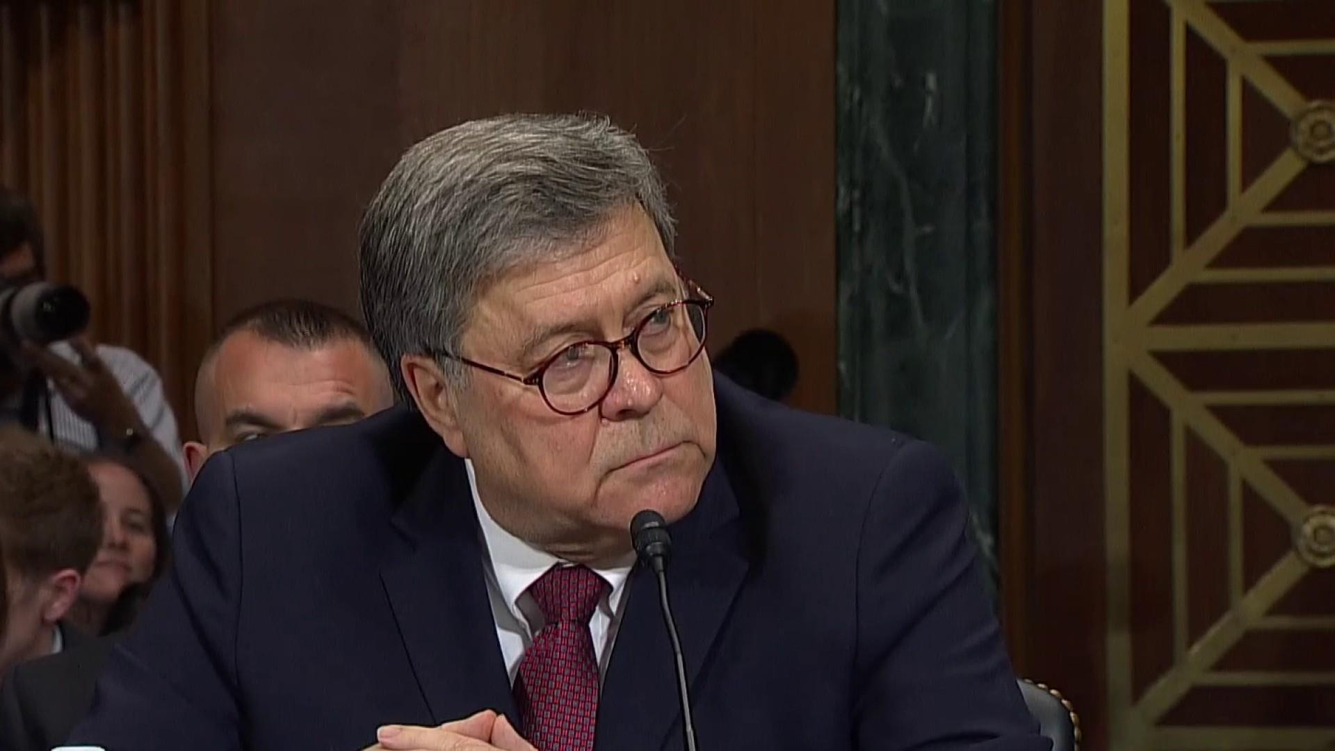 AG Barr:  'No, I did not exonerate' President Trump