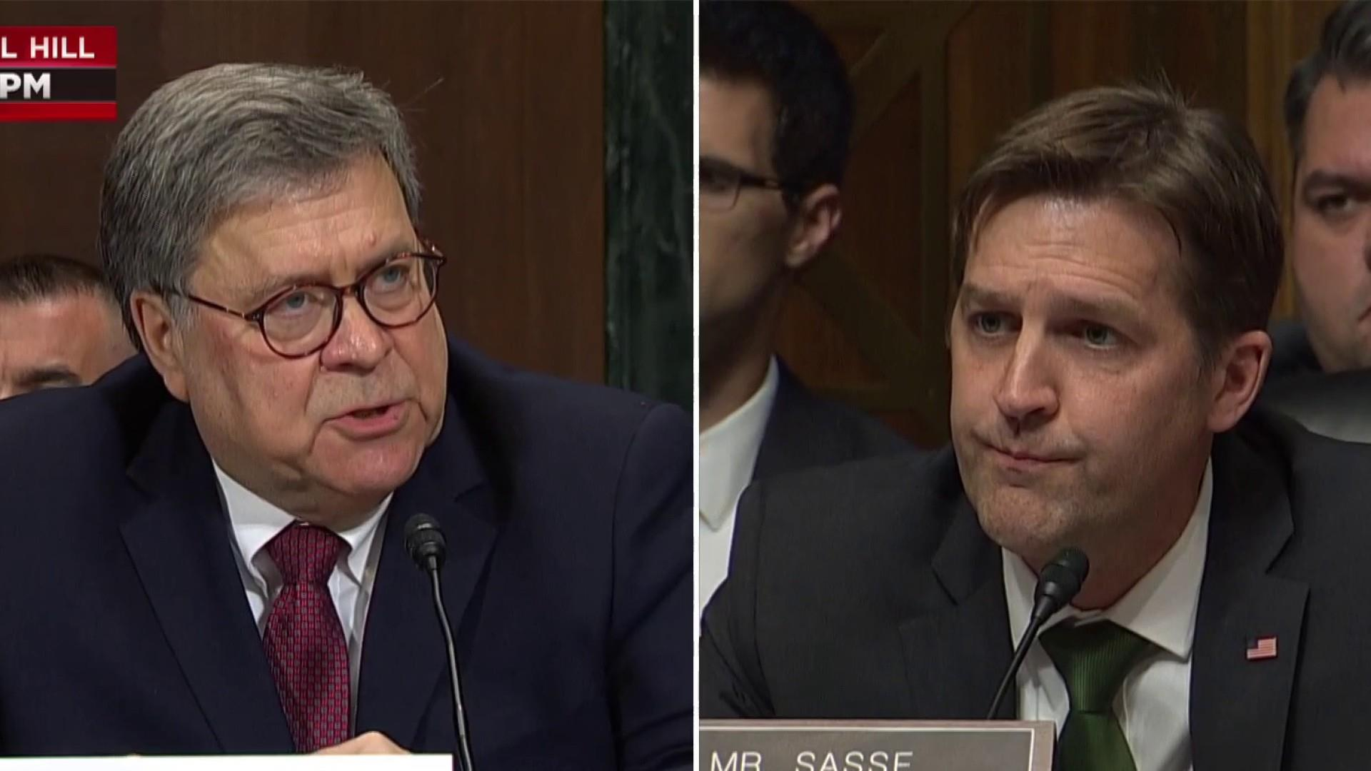AG Barr won't clearly state how foreign entities should be prohibited from involvement in U.S. elections