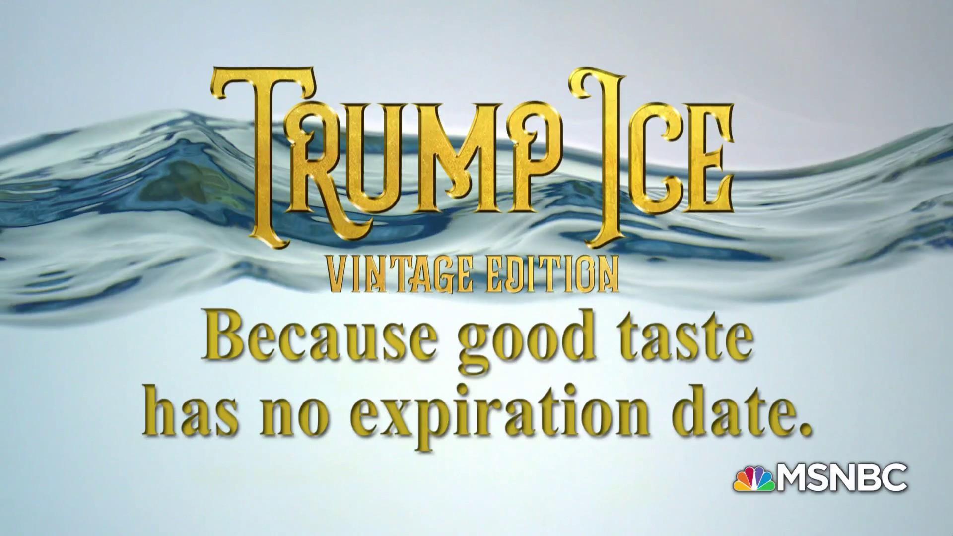 Obsessed: Trump Ice: Vintage Edition