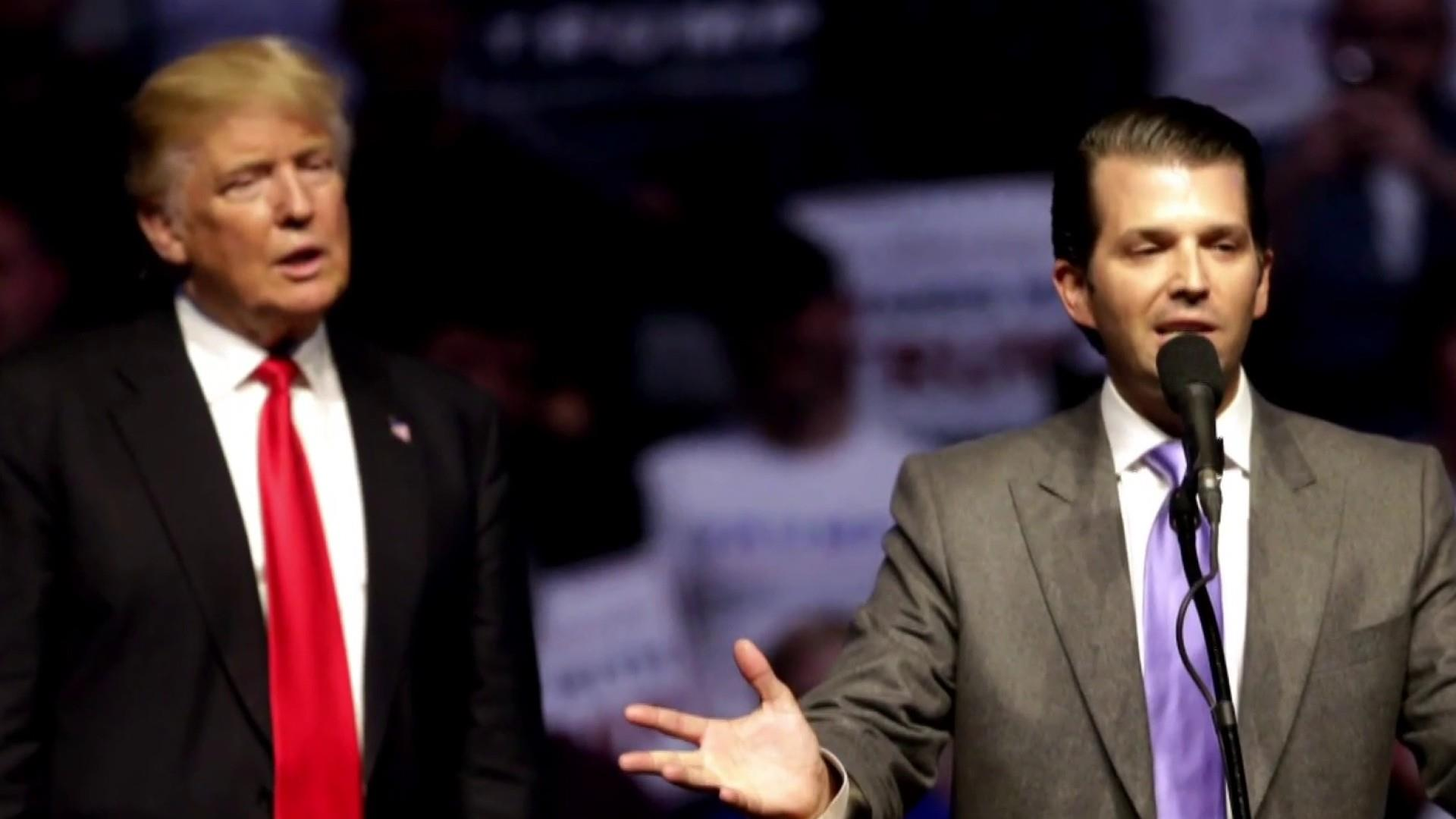 Reports: Donald Trump Jr. agrees to testify in front of Senate