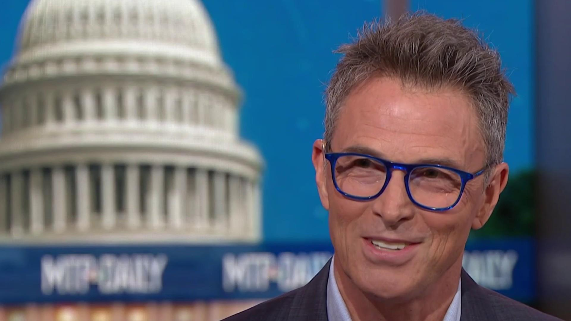 Full Daly: Actor Tim Daly joins MTP Daily to talk about the 2020 race and support for the arts