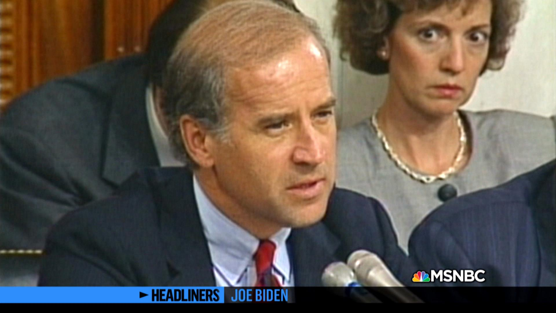 'Headliners: Joe Biden' Anita Hill Testimony
