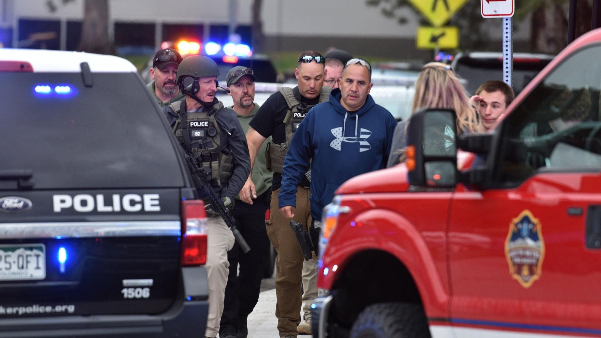 Authorities say the second suspect in Colorado shooting was a female