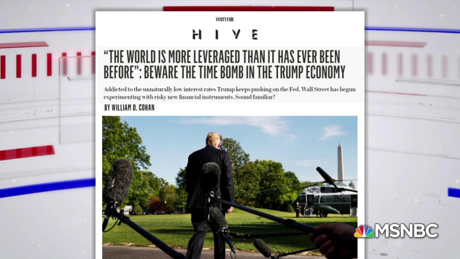 Vanity Fair: Beware the time bomb in the Trump economy