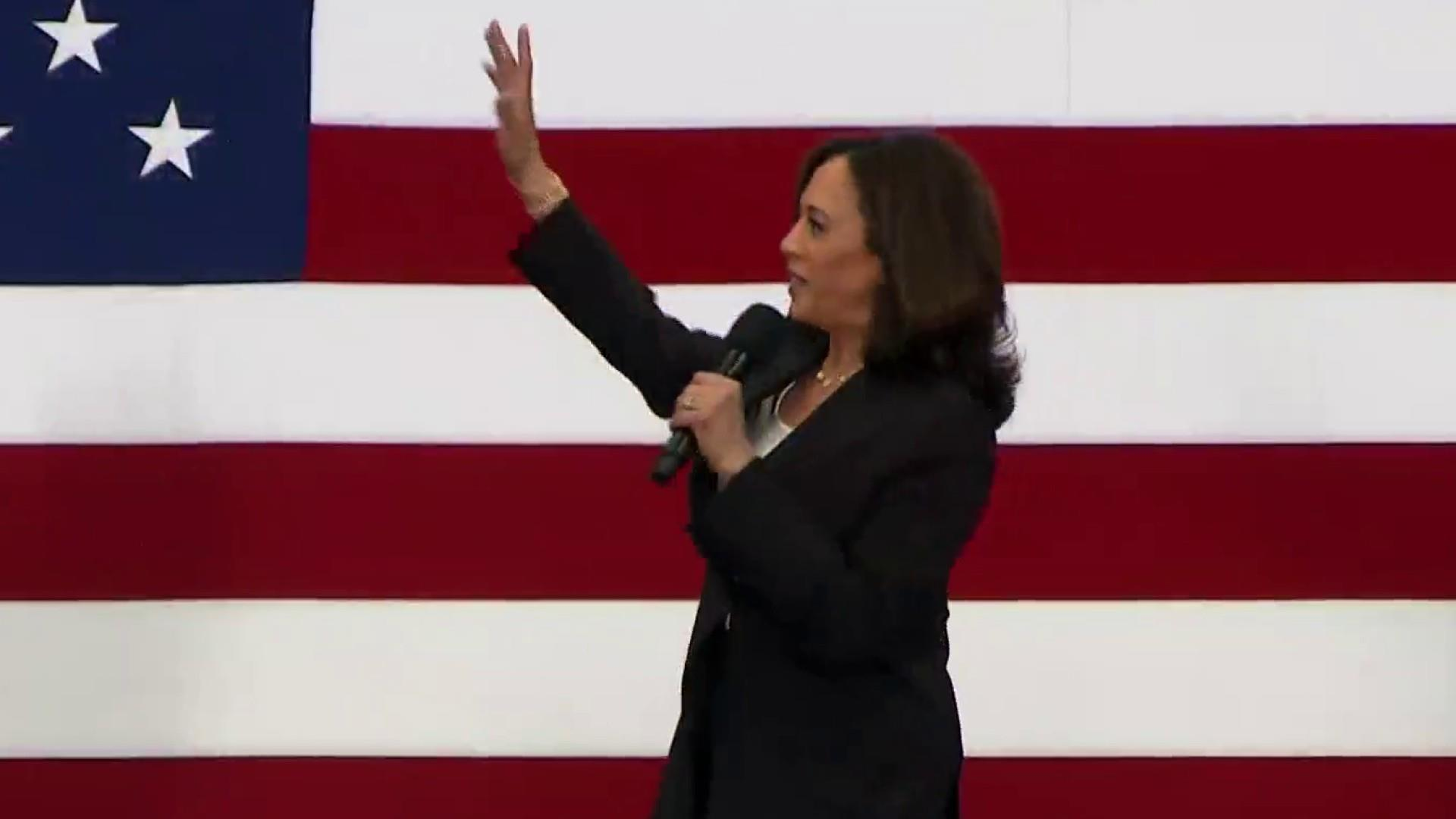 Sen. Kamala Harris unveils plan to close the gender pay gap