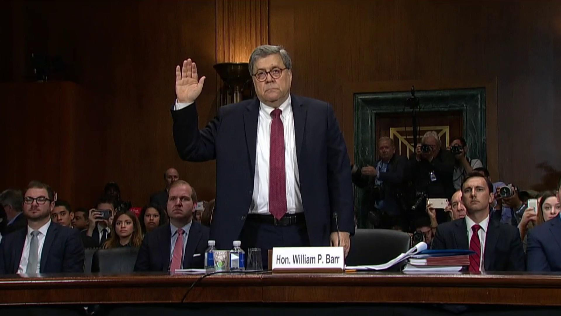 What did William Barr's Senate testimony reveal?
