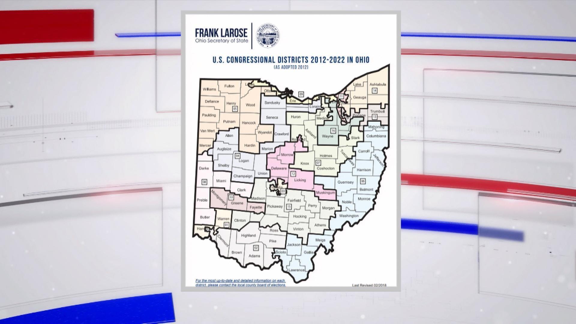 Court declares Ohio congressional map an unconstitutional partisan gerrymander