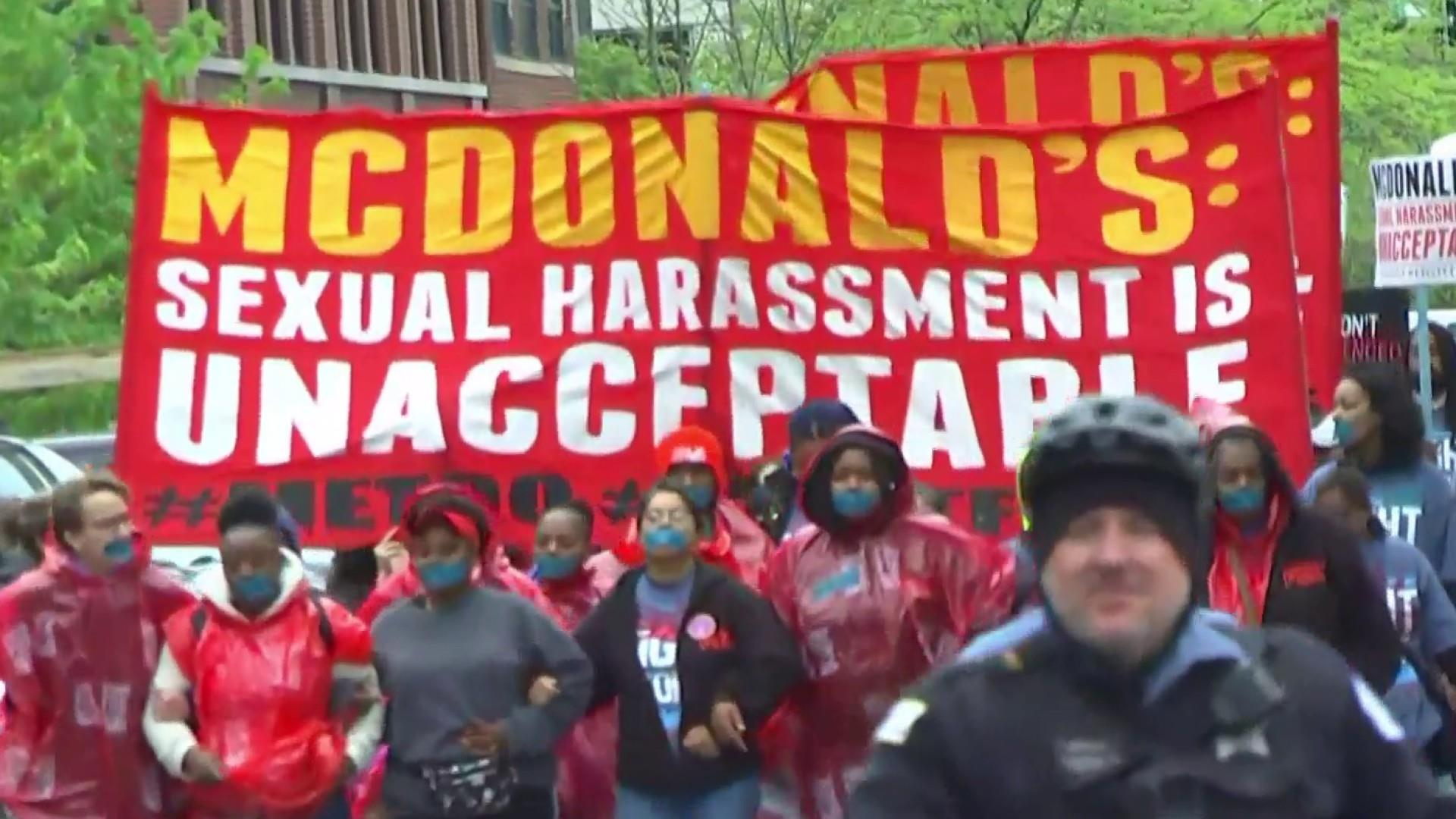 More than 2 dozen McDonald's workers say they were sexually harassed