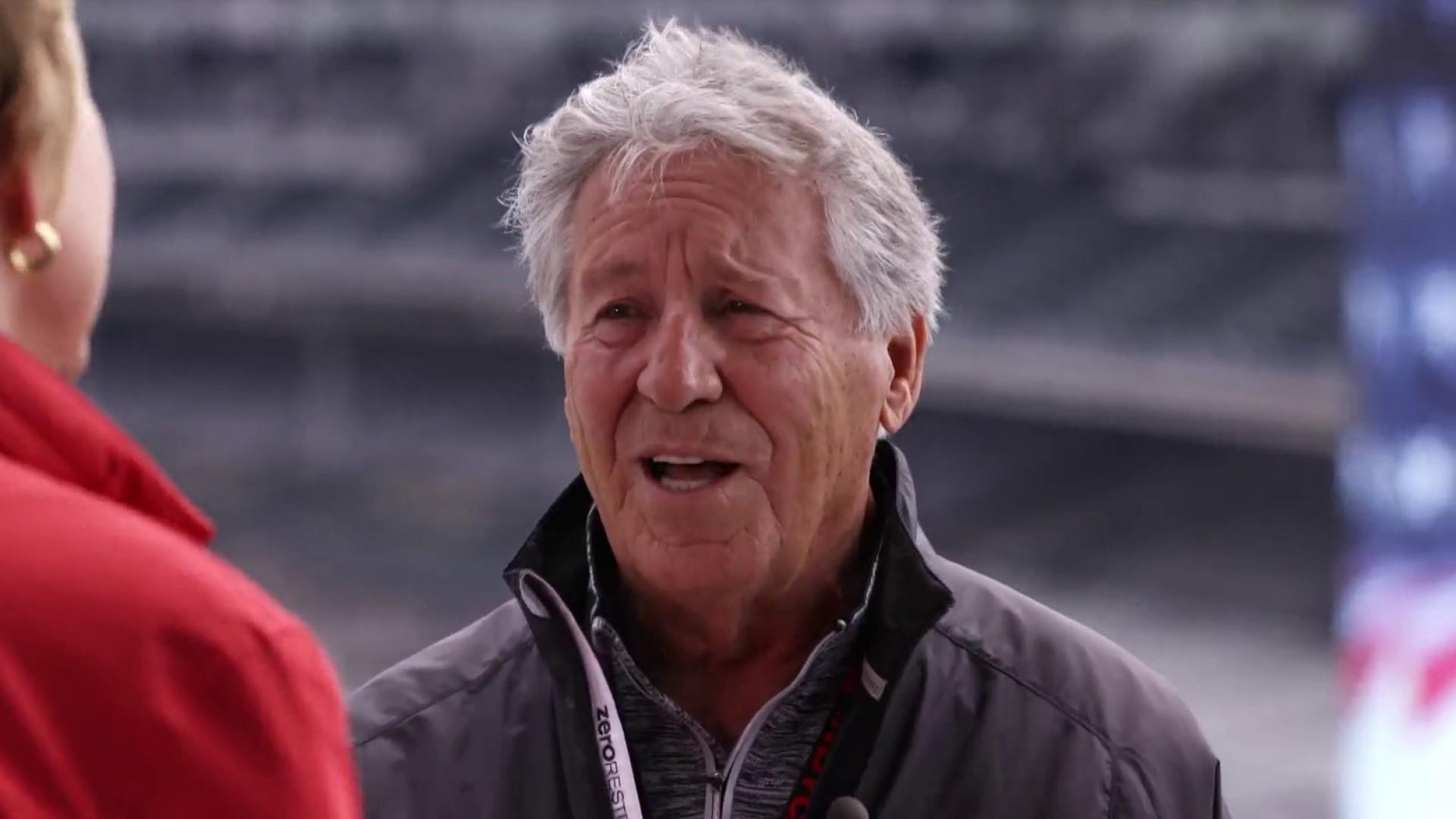 Behind the wheel with Mario Andretti 50 years after his Indy 500 win