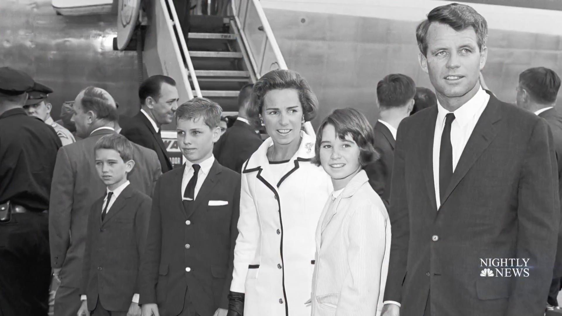Is disagreement over vaccines causing tension in Kennedy family?