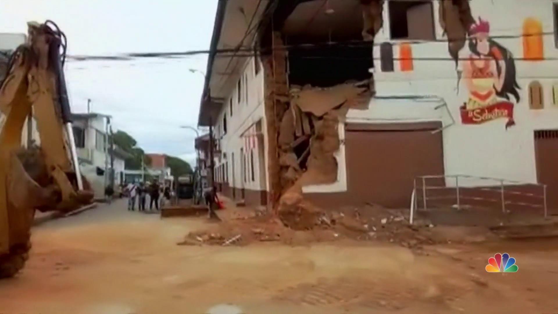 Massive earthquake in Peru leaves are least one dead
