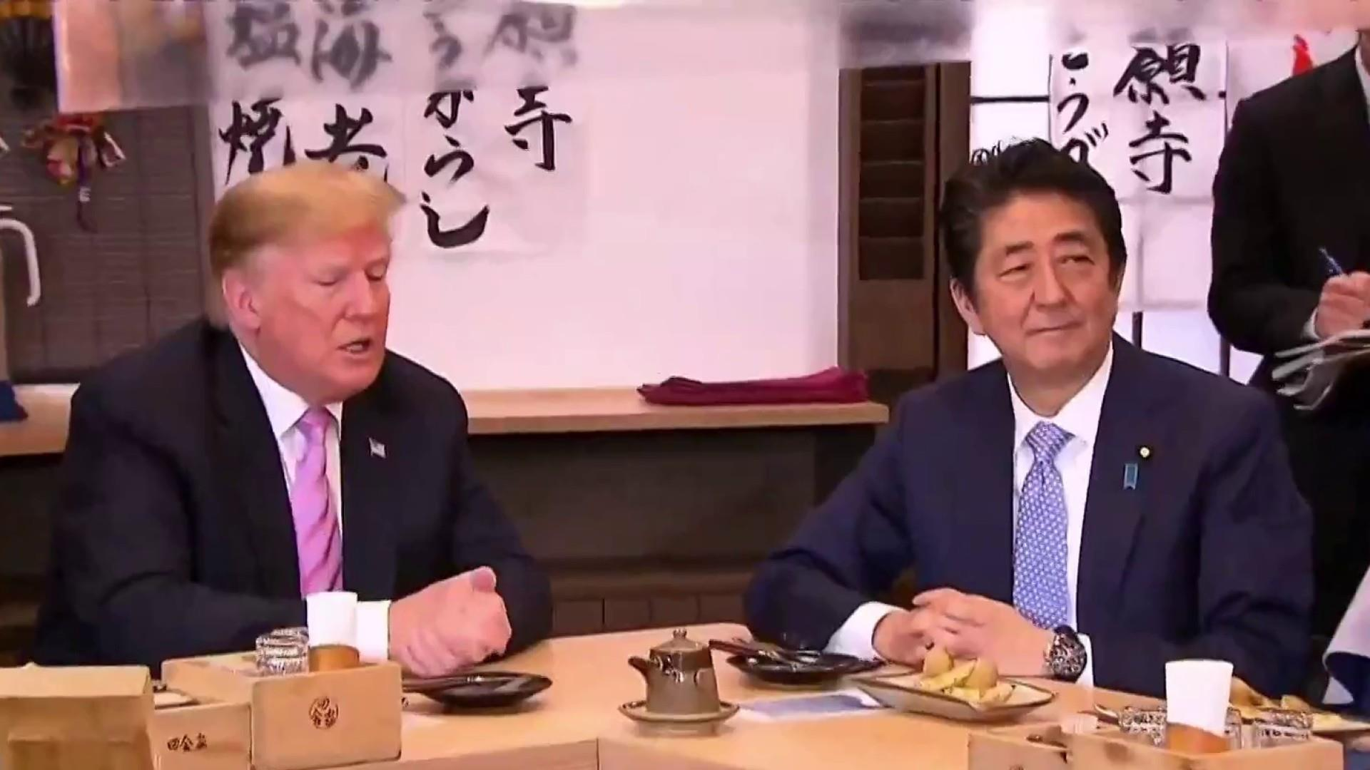 Trump projects unity with Japan but splits with Abe on North Korea