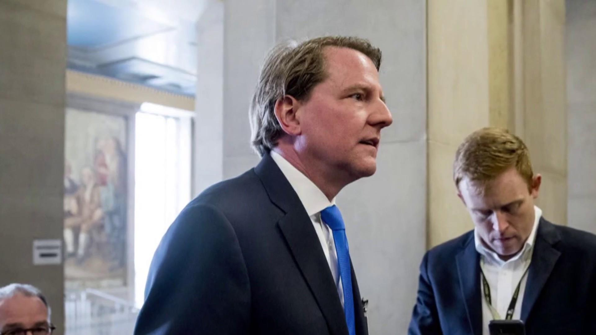 Democrats ramp up impeachment talk as ex-White House counsel refuses to testify