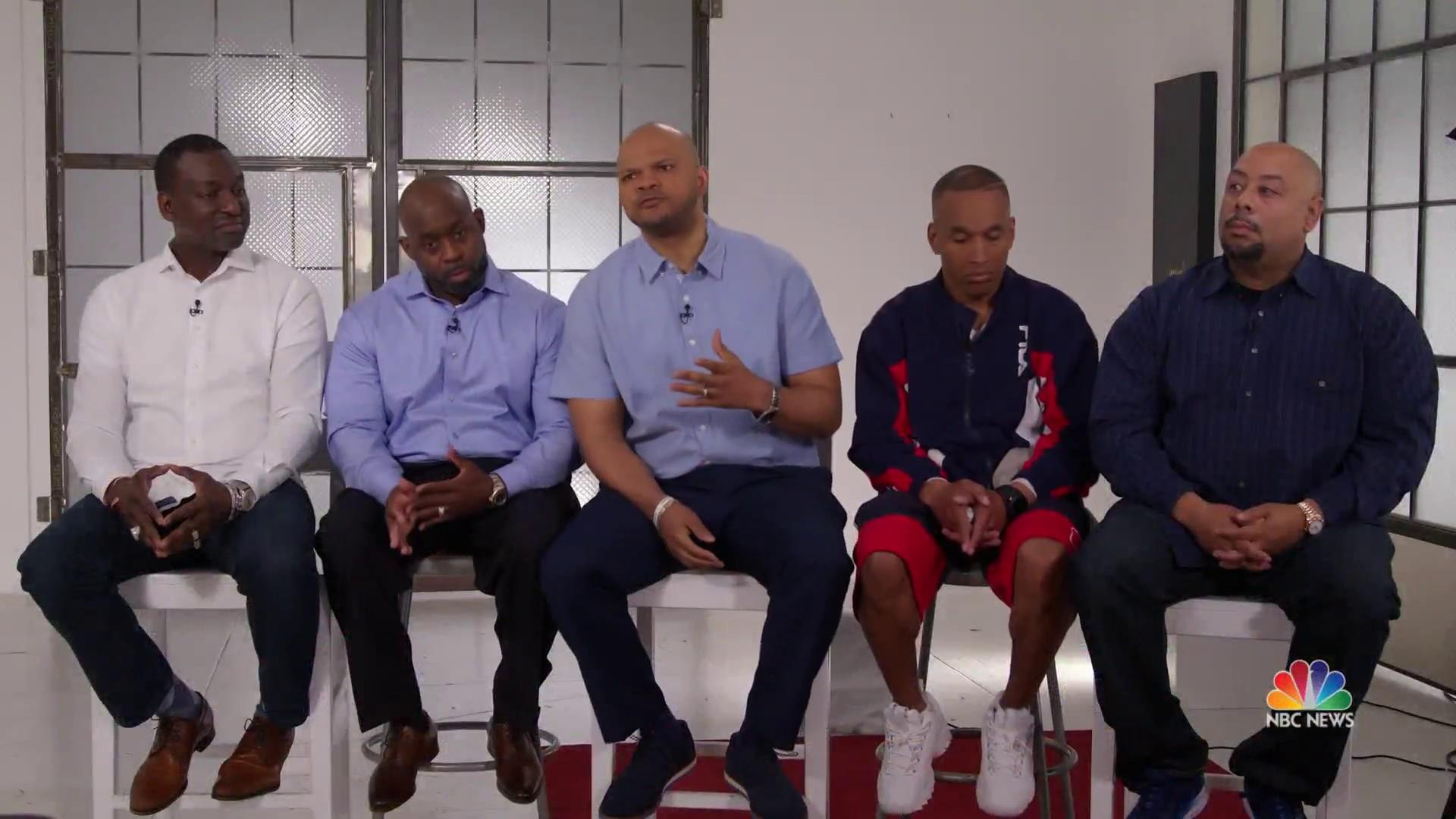 Men known as 'Central Park Five' speak out 30 years after wrongful conviction
