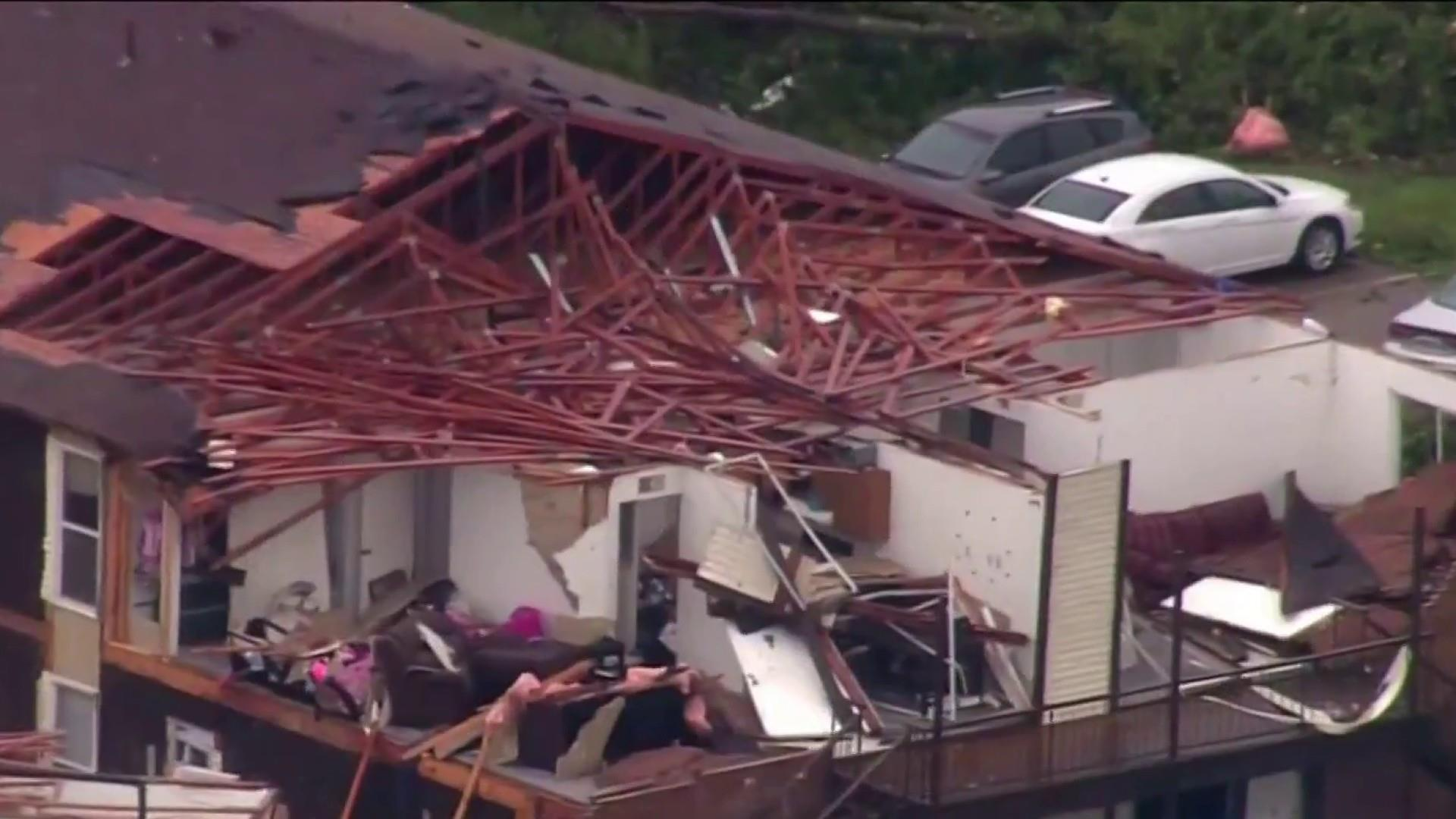 Tornadoes that hit Jefferson City and killed 3 in Missouri registered as EF-3