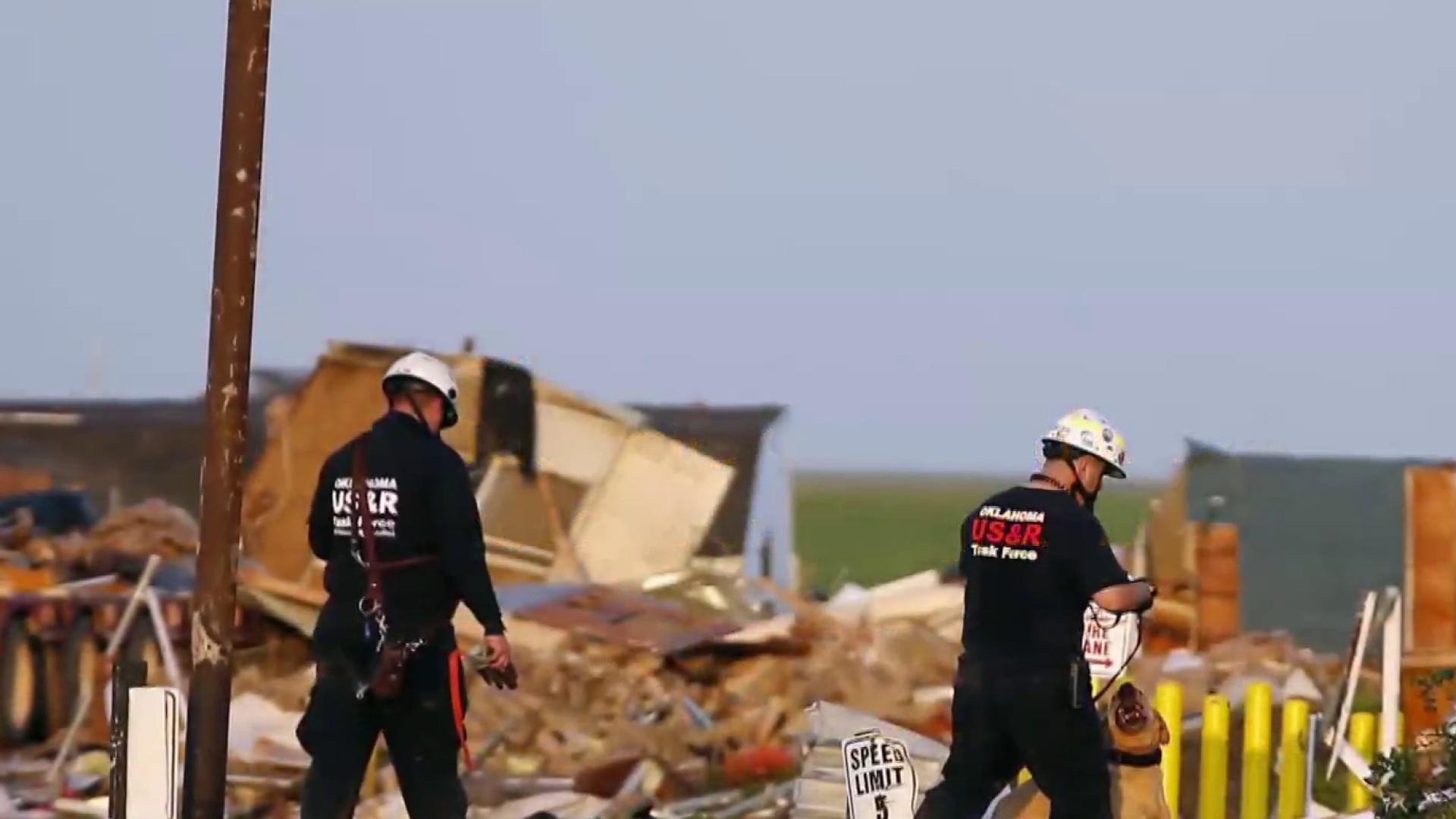 Deadly tornado tears through Oklahoma community, still reeling from floods