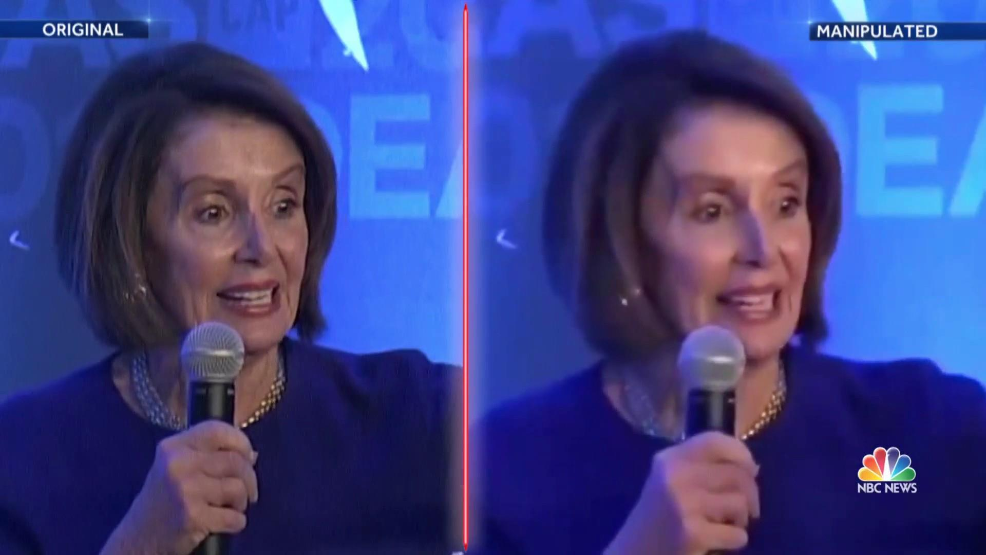 Edited Pelosi video highlights concerns about misinformation and elections