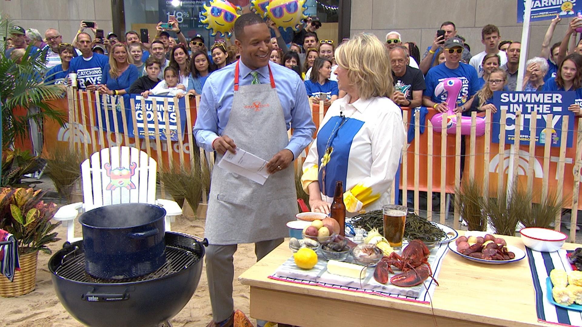 Make Martha Stewart's easy stove-top clambake