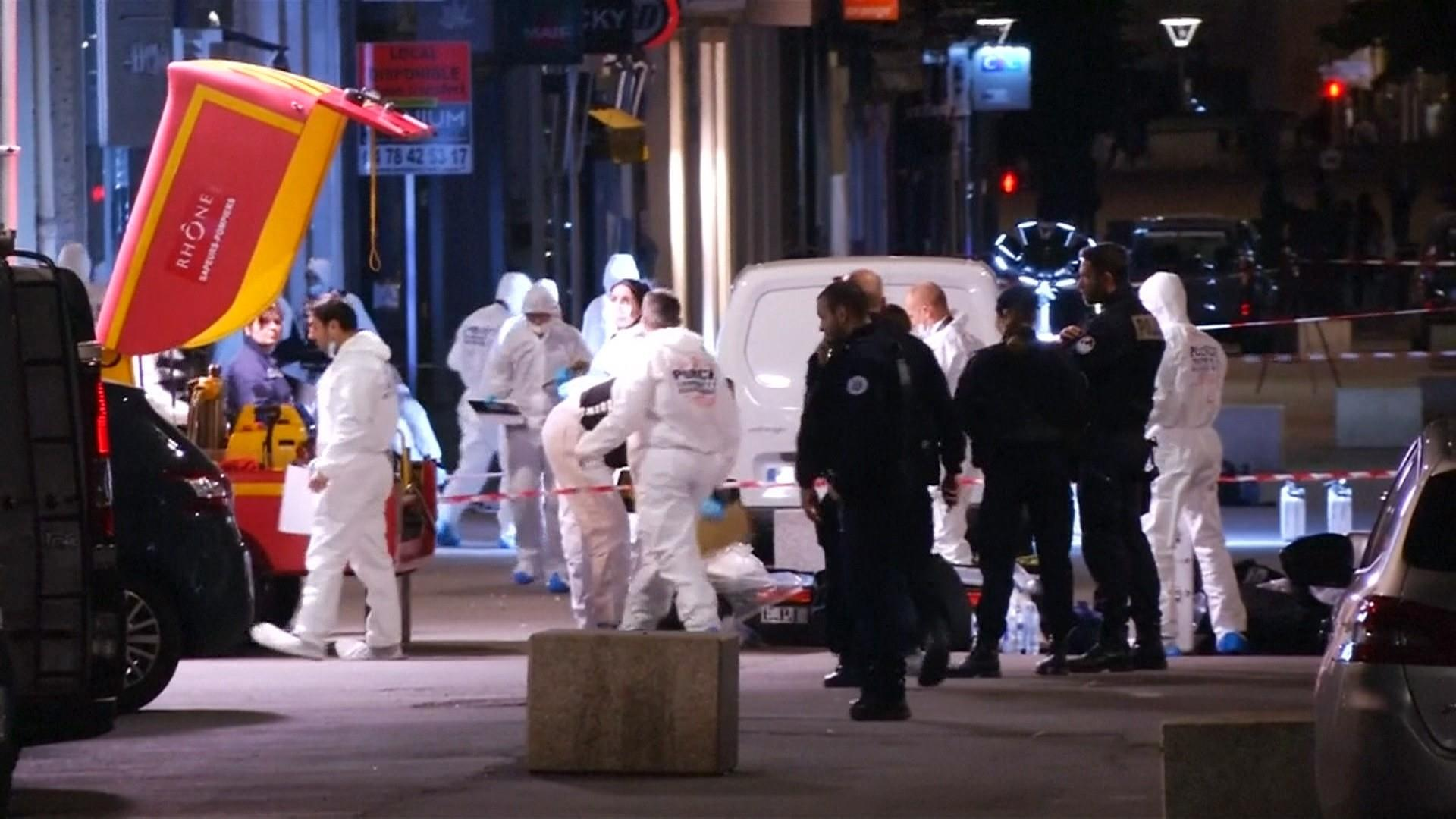 Manhunt underway after bomb attack injures 13 in Lyon, France