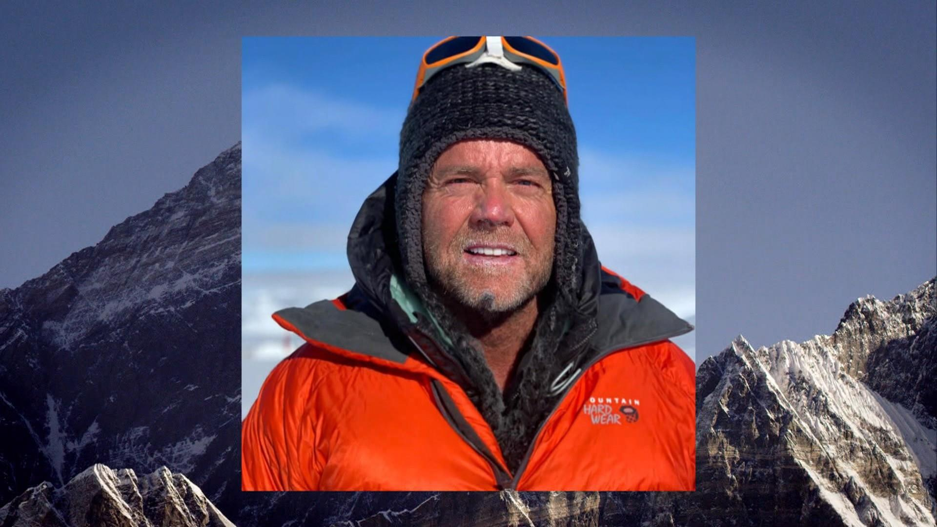 Family remembers American climber who died on Mount Everest