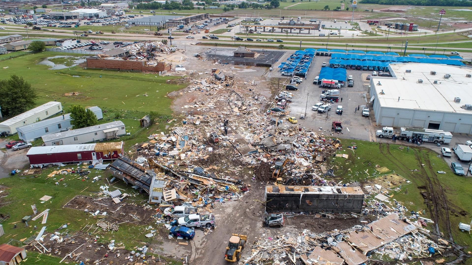 Search and rescue underway after deadly tornado hits Oklahoma